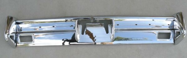 X LINCOLN NEW TRIPLE PLATED CHROME REAR BACK BUMPER 1964-1965 64-65 OEM