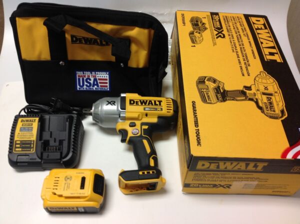 NEW- DEWALT DCF899P1 20V MAX XR Brushless High Torque 1/2