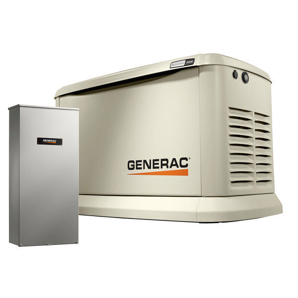 22kW Generac Guardian Series Generator with 200A SE Transfer Switch 70432