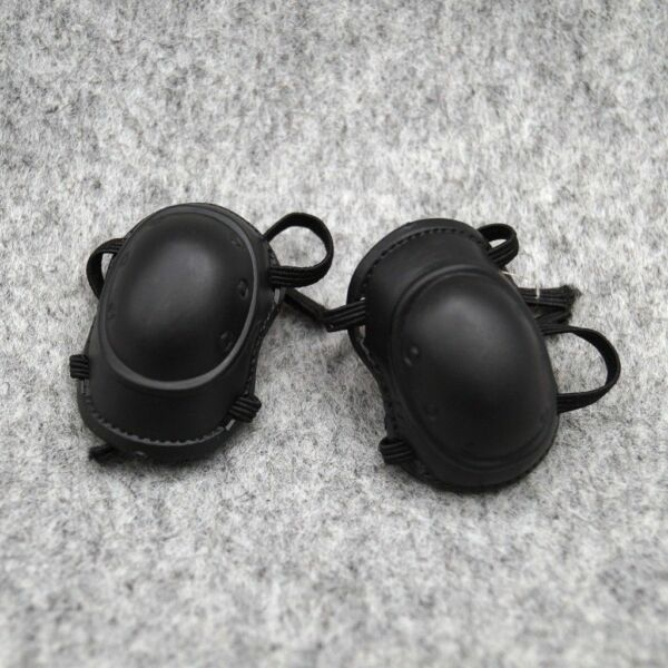 1 pair Black Kneelet Police For 1 6 Scale Male 12quot; Action Figure 1:6 Model HT