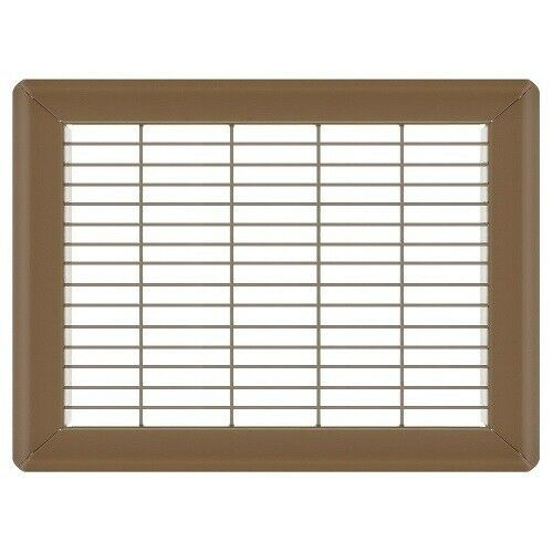Brown Floor Return Air Grilles -  60 Sizes of Heavy Duty Floor Grates NEW