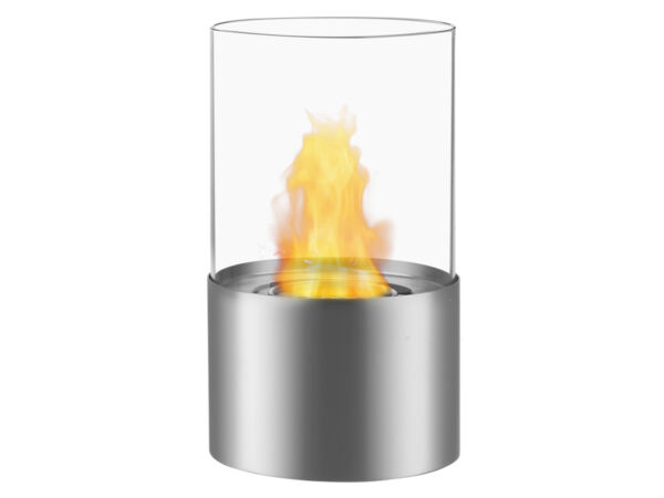 Circum Stainless Steel - Ignis Ventless Tabletop Bio Ethanol Fireplace