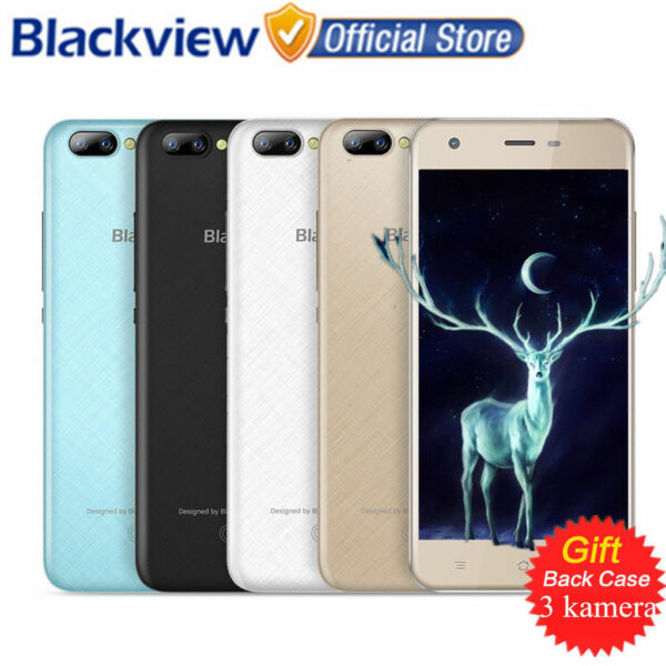 3-Samsung CAM Android7.0 2GB/16GB Blackview A7 (PRO) Smartphone 4G Handy 4Core