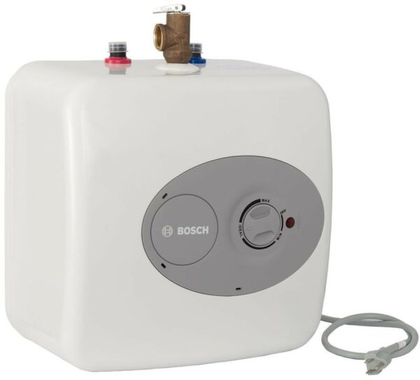 Mini Tank Electric Water Heater Sink Hot Boiler Wall Mounted Indoor Bosch 4 Gal. $193.69