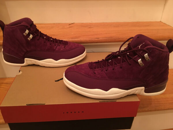 NIKE AIR JORDAN 12 XII RETRO BORDEAUX SIZES 7.5-15