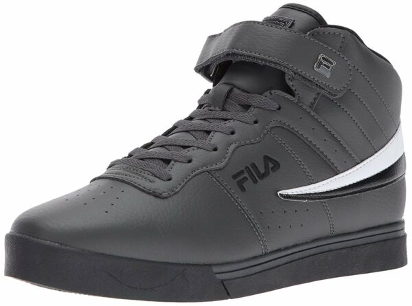 Fila Men's Vulc 13 Mid Leather Mid High Top Casual Athletic Shoes Sneakers