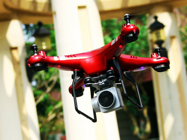 HR SH5 HD 2.4G 4CH 720P Camera Wifi FPV Drone RC Quadcopter IOS&Android System