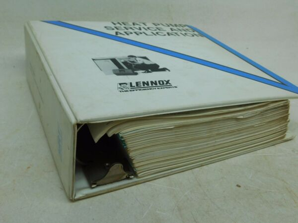 LENNOXquot;HEAT PUMP SERVICE AND APPLICATIONquot; Handbook Owners Manual Installation AP $74.99