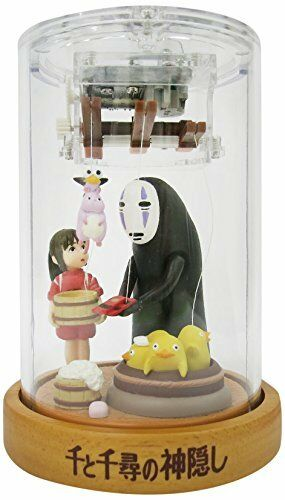 Spirited Away Puppet Music Box figure SEKIGUCHI JAPAN