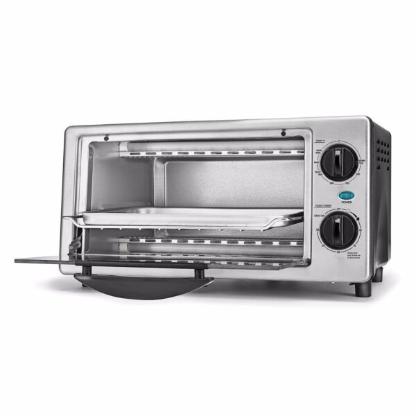 Bella 4 slice Toaster Oven Toast Bake Broil and more