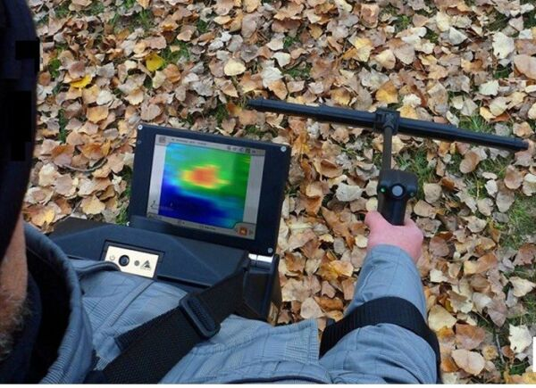 OKM - EXP 6000 PRO PLUS  - Wireless Ground Scanner with Touch Screen