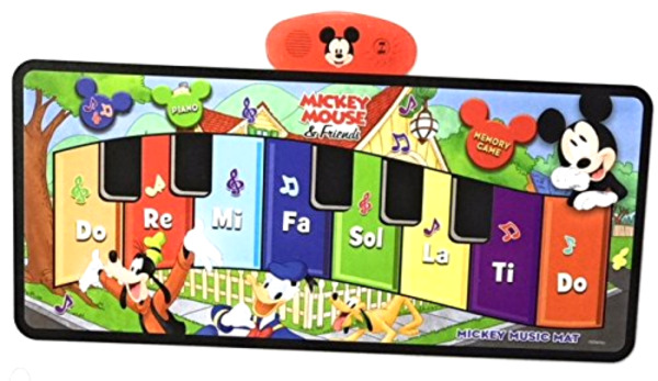 Big Floor Piano Kids Step On Musical Toy Disney Junior Mickey Mouse Music Mat