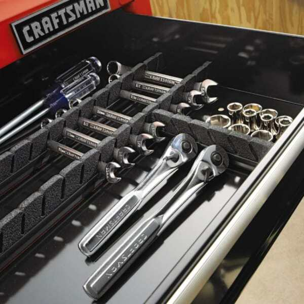 Tool Box Drawer Dividers Craftsman Small Tools Chest Toolbox Organizer Universal