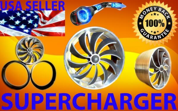 Chevrolet Performance Turbo Air Intake Supercharger Fan