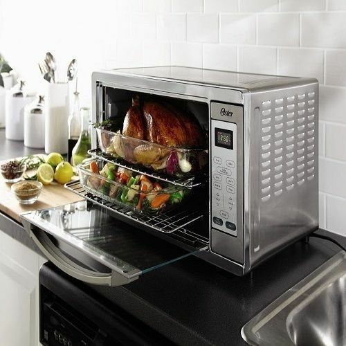 Kitchen Convection Oven Extra Large Counter Top Appliances Grill Cooking No Tax!