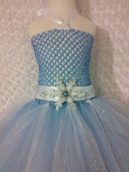 Little Girl tutu dress/ Elsa/ Frozen tutu dress/ playtime/ Pictures/