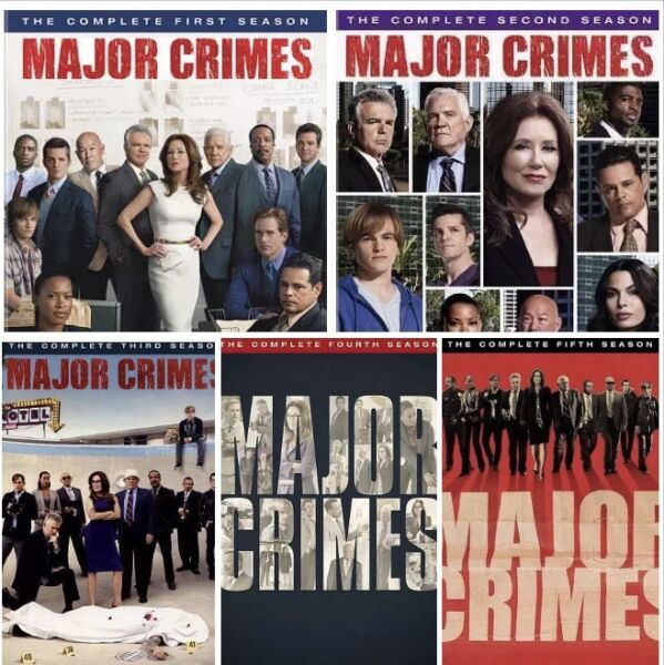 Major Crimes: The Complete Collection  Series Season 1-5 DVD New