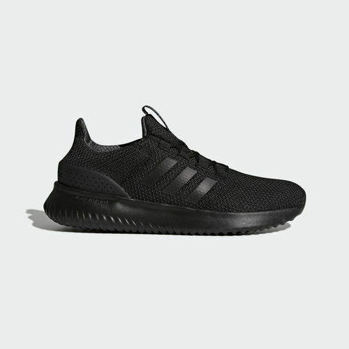 Mens Adidas NEO Cloudfoam Ultimate Black Sneaker Athletic Shoe BC0018 Sizes 8-13