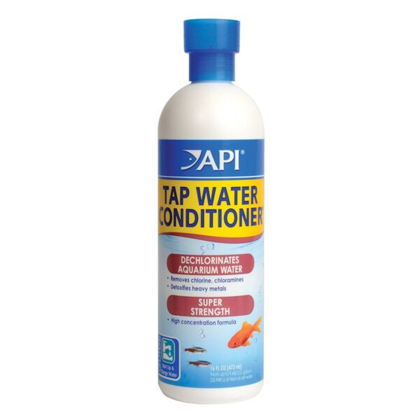 API Tap Water Conditioner Safe for all aquarium life Works instant Size:16 oz $17.99