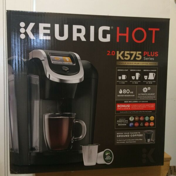Keurig 2.0 K575 K CUP CARAFE Mug Coffee Machine Maker Brewer Brewing System Gift