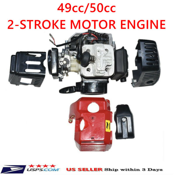 49CC 2-STROKE Racing MOTOR ENGINE FOR MINI POCKET BIKE ATV Go Kart SCOOTER
