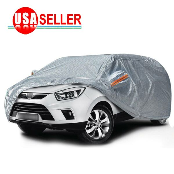 SUV Full Car Cover Multi Size & Color Waterproof Snow Rain Resistant Protection