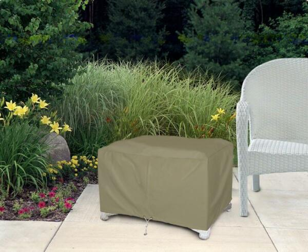 Ottoman Patio Furniture Cover Waterproof Outdoor Protection Small