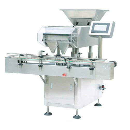 NEW ~ 110V JF-16 auto multi-channels Capsule Counting Machine (16 channels)