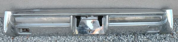 X LINCOLN CONTINENTAL NEW TRIPLE PLATED CHROME REAR BUMPER 1964-1965 64-65 OEM