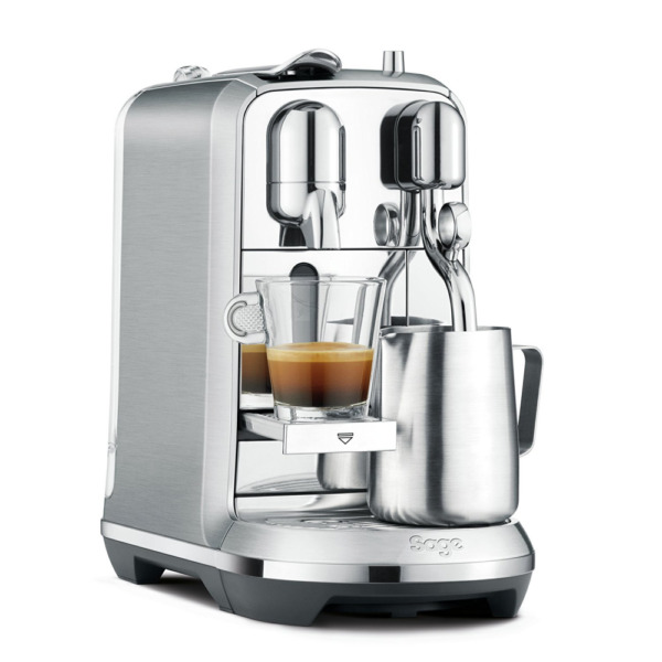 Nespresso Creatista Plus Coffee Machine Silver by Sage
