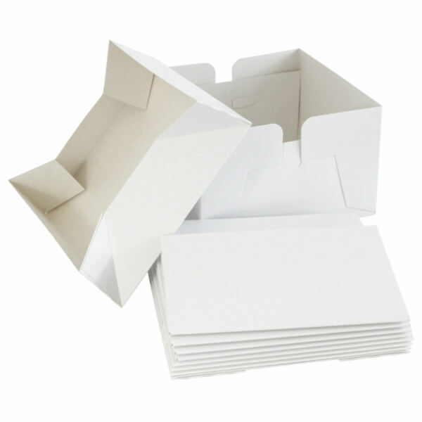 HIGH QUALITY WHITE CAKE BOXES 810121416 INCH amp; 46 amp; 12 HOLD CUPCAKE BOXES