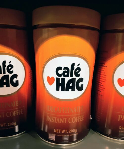 Cafe Hag Decaffeinated Instant Coffee Produced in Israel 200g  6.8 oz.
