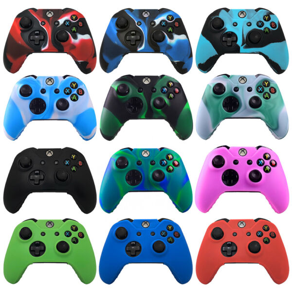 Xbox One Camouflage Silicone Controller Case Skin Cover For Xbox One  S  X