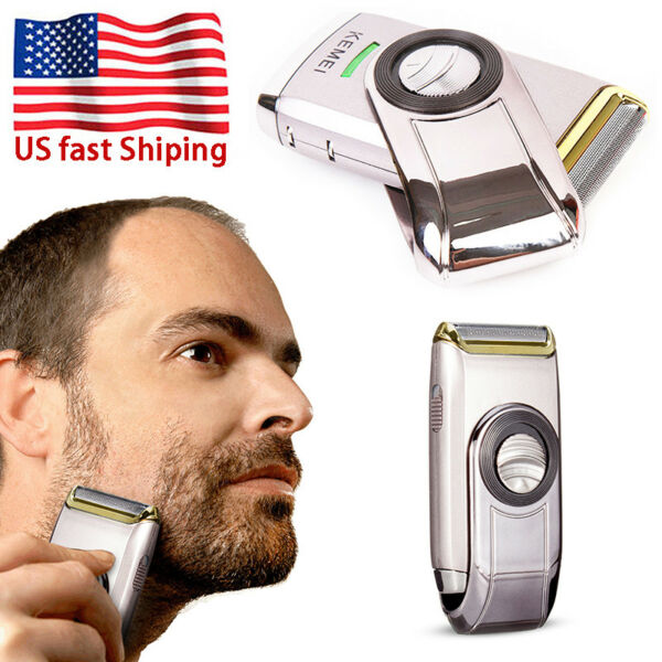 Men Electric Shaver Razor Steel Blade Beard Trimmer Shaving Machine Rechargeable