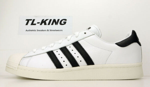 Adidas Originals Superstar Boost White Black BZ0202 Msrp $120 FX