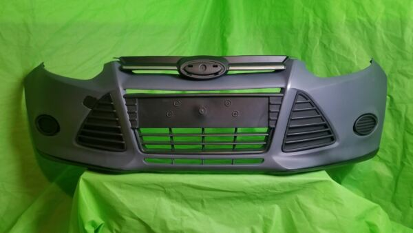 2012 2013 2015 2014 FORD FOCUS FRONT BUMPER COVER COMPLETE WITH ALL GRILLS