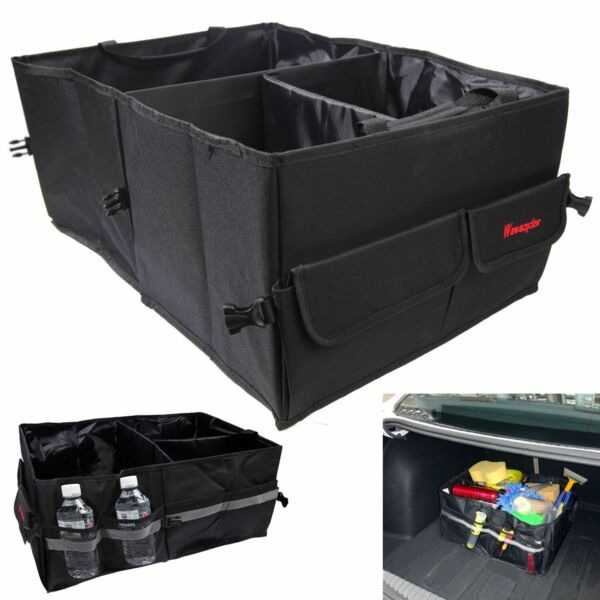 Cargo Organizer Foldable Multi-purpose Storage Box Bag Case For Car Trunk SUV
