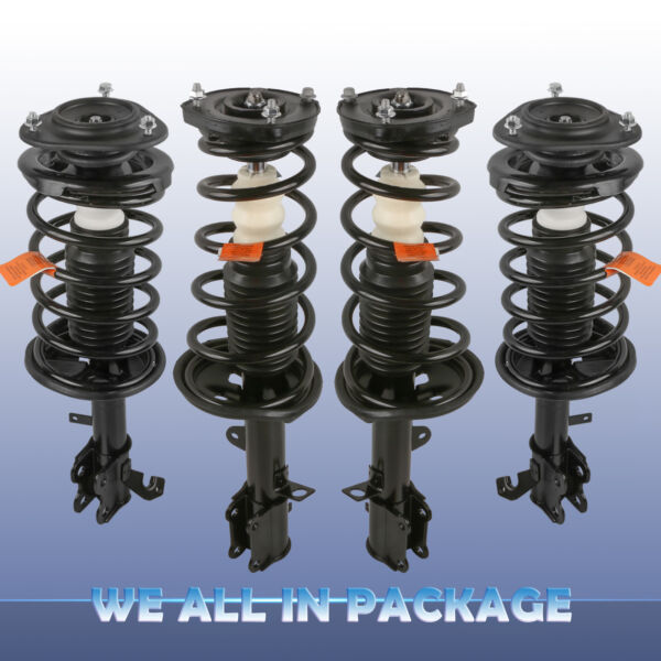 For 93 02 TOYOTA COROLLA Front amp; Rear Complete Shocks Absorber Strut w Spring