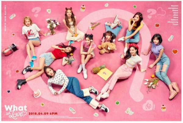 [PRE-ORDER] TWICE 5TH MINI - WHAT IS LOVE?: FULL PACKAGE WITH POSTER, SEALED