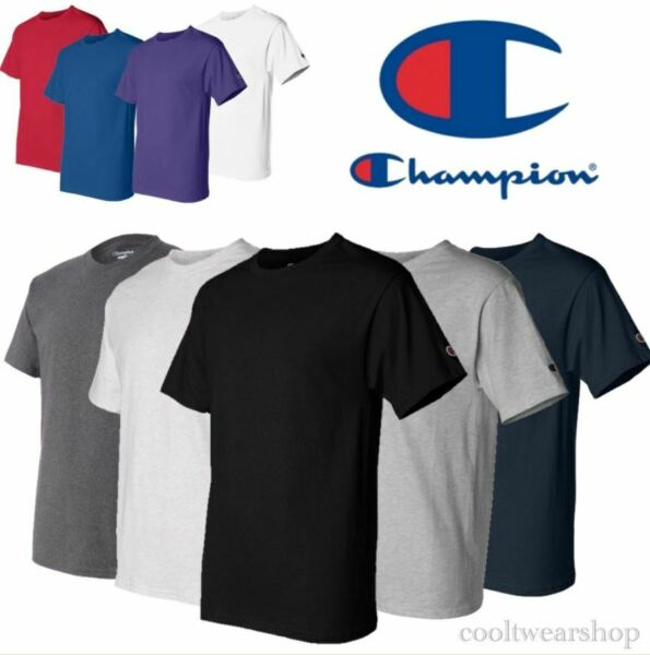Champion T425 Men Crew Neck Short Sleeves T Shirt SMLXL2XL