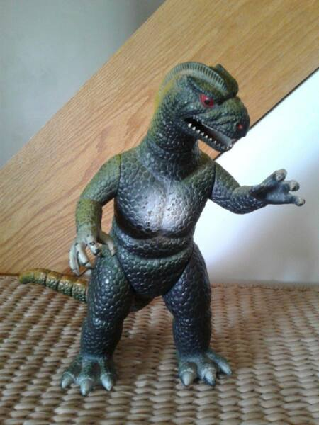 DOR MEI GODZILLA Monster Large 13.5quot; TALL Jointed Action Figure Vintage $32.95