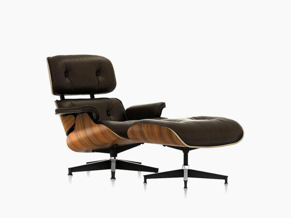 Herman Miller Eames Lounge Chair and Ottoman Brand New Authentic