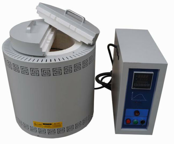 Well Type Crucible Furnace Max. Temp 1200 ℃  With Chamber Size Φ120×120mm 220V