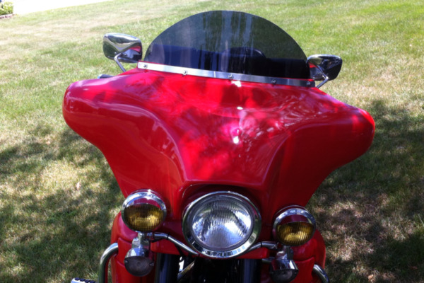 Harley Replacement Windshields 1986 1995 5 hole batwing fairing $33.00