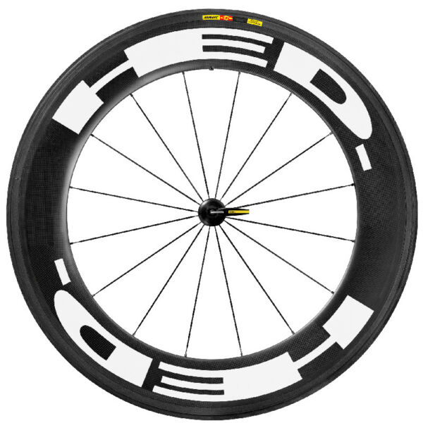 HED Carbon Wheel Sticker Set for Road Bike Bicycle Rim Decals 50 60 80 88 mm $27.86
