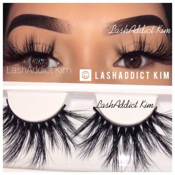 ❤️💕 Thick Mink Lashes Eyelashes 3 Pairs Makeup Fur New  US SELLER ❤️💕