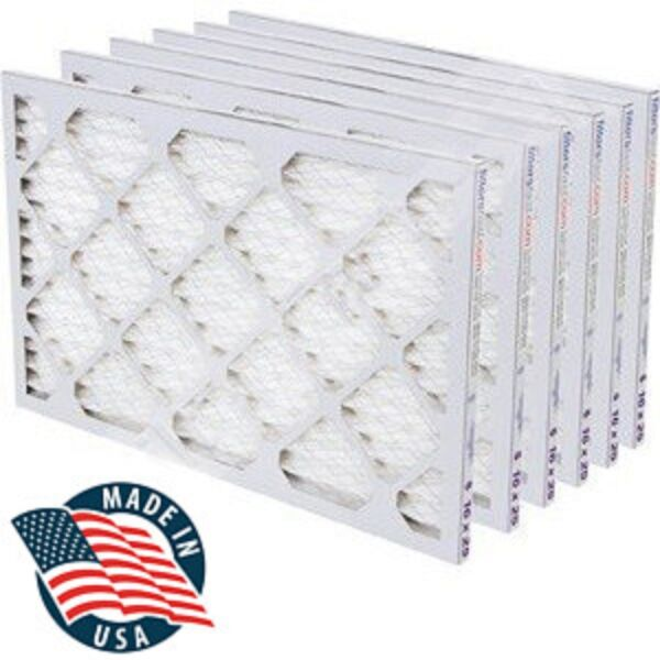 Filters Fast 2quot; HVAC MERV 8 Air and Furnace Filters 6 PACK *Made in the USA* $47.99