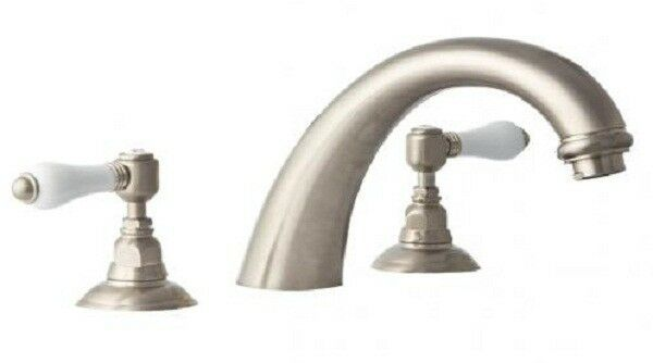 Nicolazzi ADORE BASIN SET Lever Handle WELS 4 Star Rating 7LMin SATINNICKEL