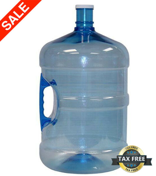 American Made BPA Free Reusable Large 5 Gallon Water Bottle Jug Leak-ProofNEW