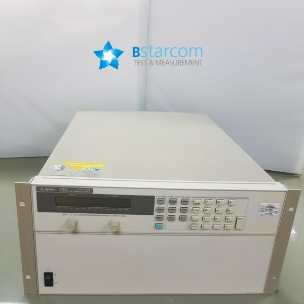 Agilent 6682A 5000 Watt System Power Supply 21V 240A have 6unit